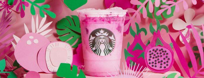 Starbucks new Pink Dragon Drink