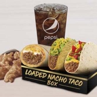 Taco Bell new $5 Loaded Nacho Taco Box
