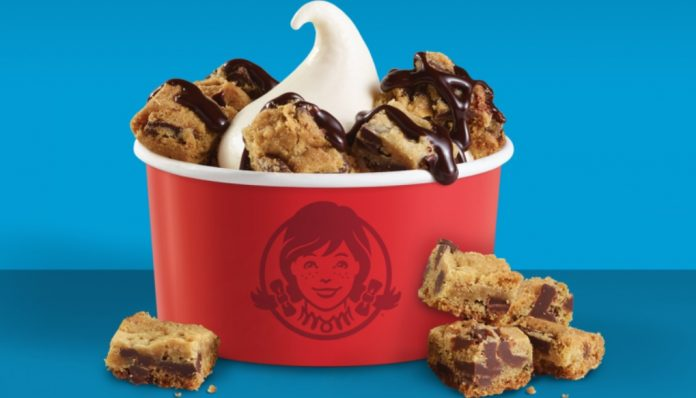 Wendy's new Frosty Cookie Sundae