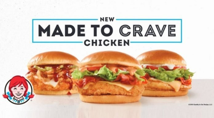 Wendy's new Made to Crave Chicken menu