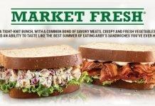 Arby's Market Fresh Sandwiches