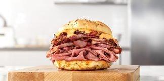 Arby's new Bacon 'n Brisket Beef 'n Cheddar sandwich
