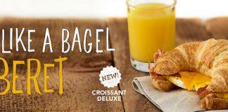 Einstein Bros. new Croissant Deluxe sandwich hero