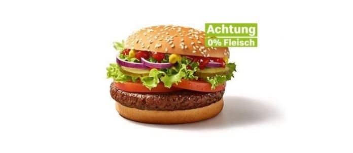 McDonald's new meatless Big Vegan TS burger