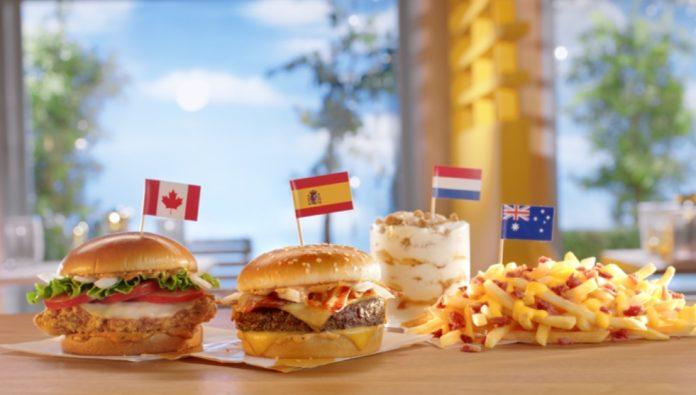 McDonald's new menu items from around the world