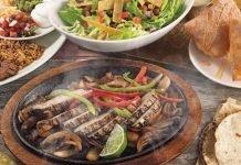 On The Border $12.99 3-course fajita meal