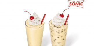 Sonic Drive-In new Cake Batter Shakes