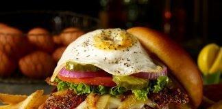 TGI Fridays new Cheddar Bacon Omelet Burger