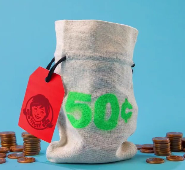 Wendy's 50-cent bag of coins