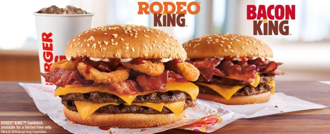 Burger King Rodeo King returns announcement