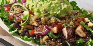Chipotle new US Women's Soccer team themed salad