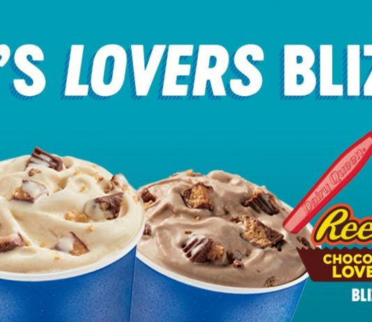 Dairy Queen new Reese's Lovers Blizzard Treats menu
