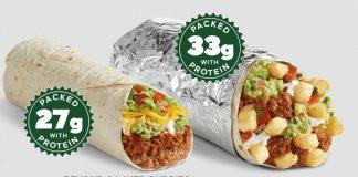 Del Taco new Beyond Meat Burritos