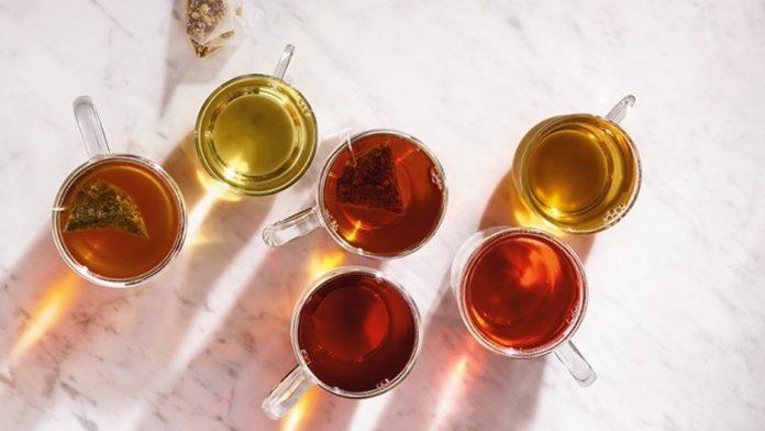 Dunkin's vegan herbal teas