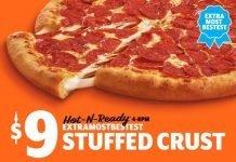Little Caesars $9 ExtraMostBestest Stuffed Crust Pizza hero