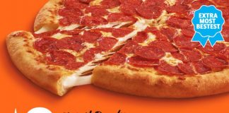 Little Caesars $9 ExtraMostBestest Stuffed Crust Pizza hero