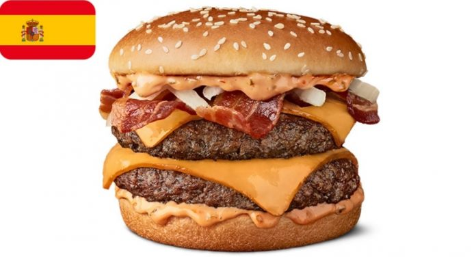 McDonald's new Double Grand McExtreme Bacon Burger