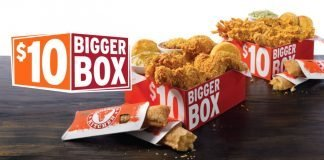 Popeyes new $10 Bigger Box promo