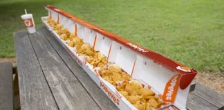 Popeyes new Wingspan Box