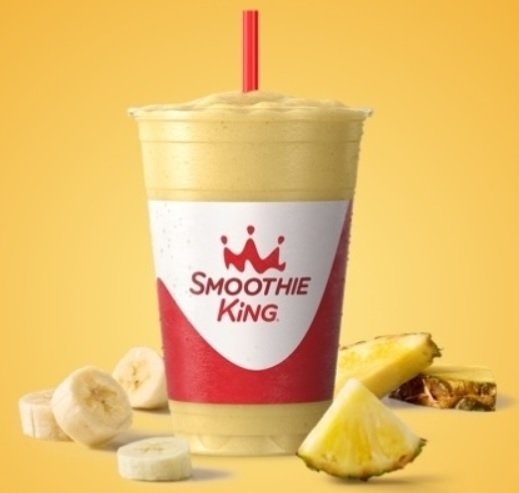 Smoothie King new Pure Recharge Pineapple Smoothie