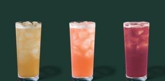 Starbucks new Teavana Tea Lemonade Flavors for Summer