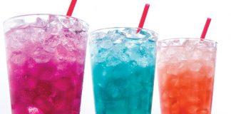 Taco John's all three Sparkling Lemonades