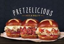 Togo's new pretzel sandwiches and the Pretzelrami