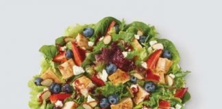 Wendy's summer deal half-size Berry Burst Salad