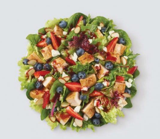 Wendy's summer deal half-size Berry Burst Salad