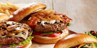 BJ's new Loaded Burgers