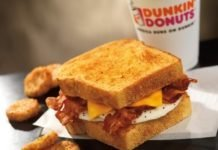 Big N' Toasted sandwich from Dunkin'