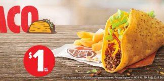 Burger King new $1 Crispy Taco