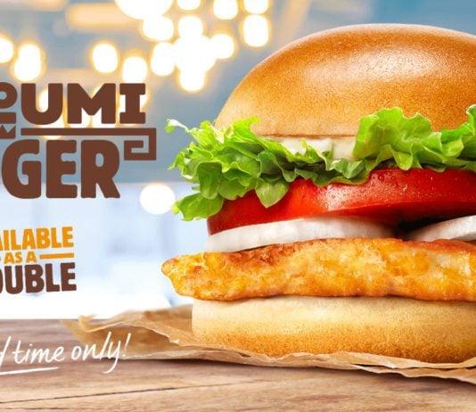 Burger King new Halloumi Burger