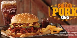 Burger King new Pulled King sandwich