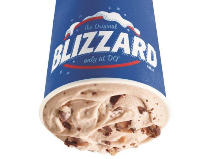 Dairy Queen new Snickers Peanut Butter Pie Blizzard Treat