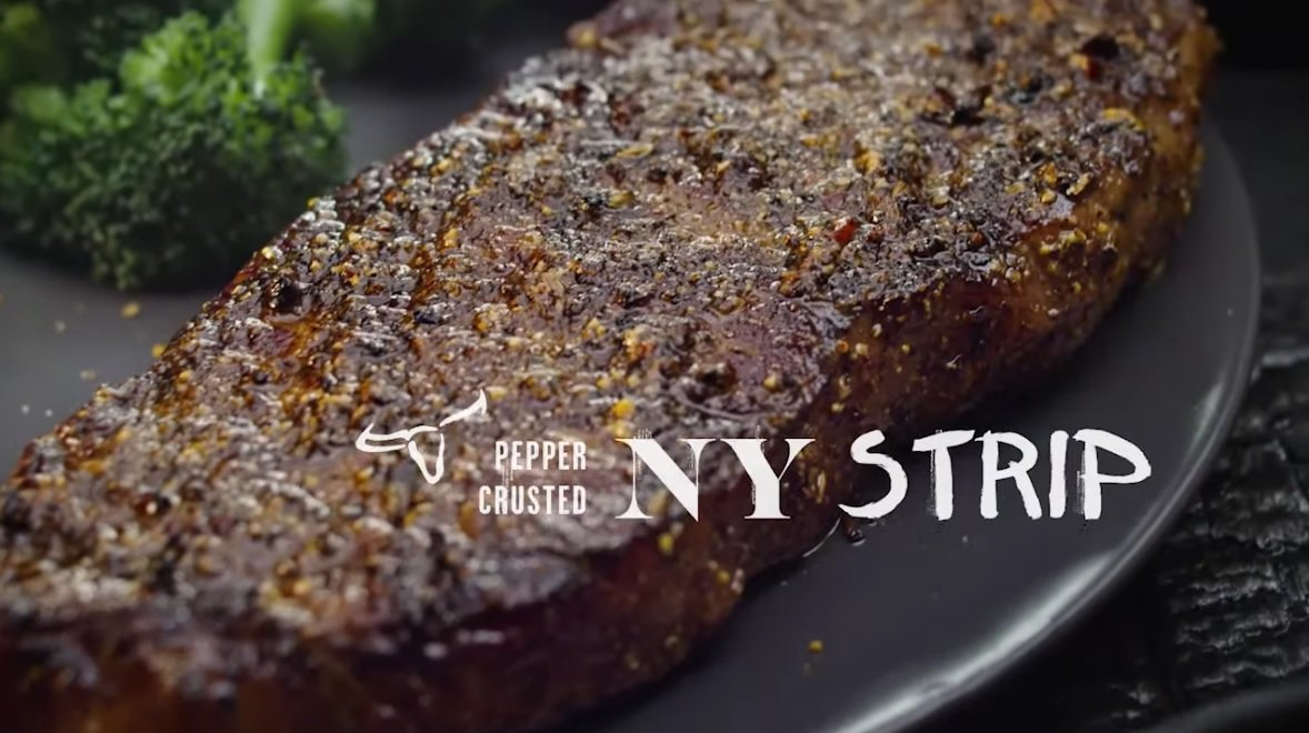 Longhorn Steakhouse Serves Up New 7 Pepper Crusted Ny Strip And New Steakhouse Burger Dip The Fast Food Post