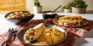 Moe's Southwest Grill new Steak and Queso menu hero