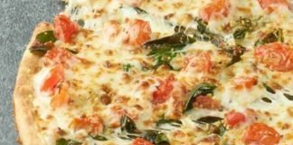 Papa John's Introduces New Spinach And Tomato Alfredo Pizza