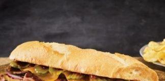 Quiznos new Pit-Smoked Brisket Sandwich