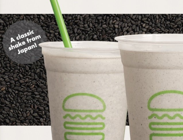 Shake Shack new Black Sesame Shake