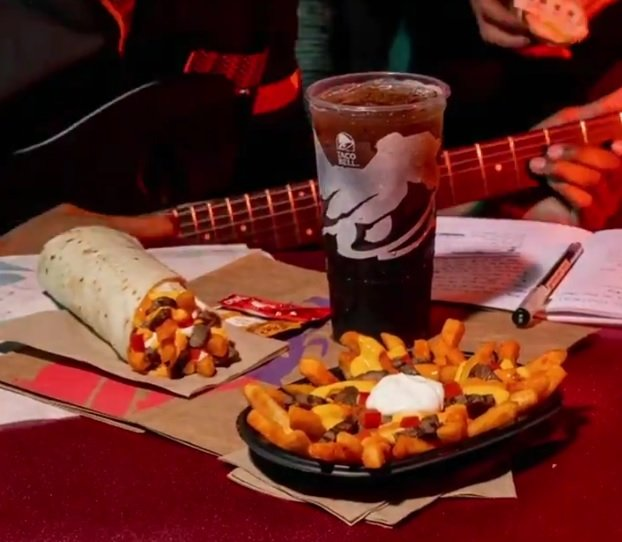 Taco Bell new Reaper Ranch Fries Supreme and Reaper Ranch Fries Burrito