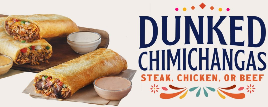 Taco Bueno brings back Dunked Chimichangas