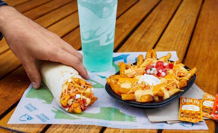 Taco bell new Buffalo Chicken Nacho Fries