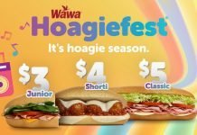 Wawa new Hoagiefest deals 2019