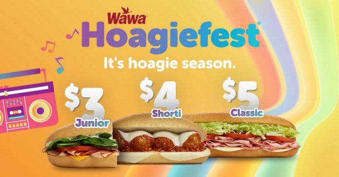 Wawa new Hoagiefest deals 2019