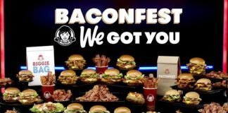 Wendy's Baconfest promotion