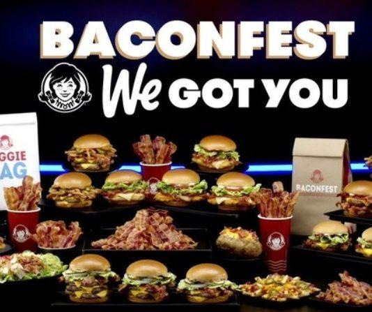 Wendy's Baconfest promotion