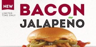 Wendy's Canada new Bacon Jalapeño Chicken Sandwich hero