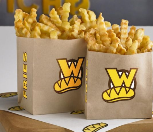 Which Wich new Crinkle-cut French Fries