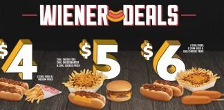 Wienerschnitzel New Wiener Deals